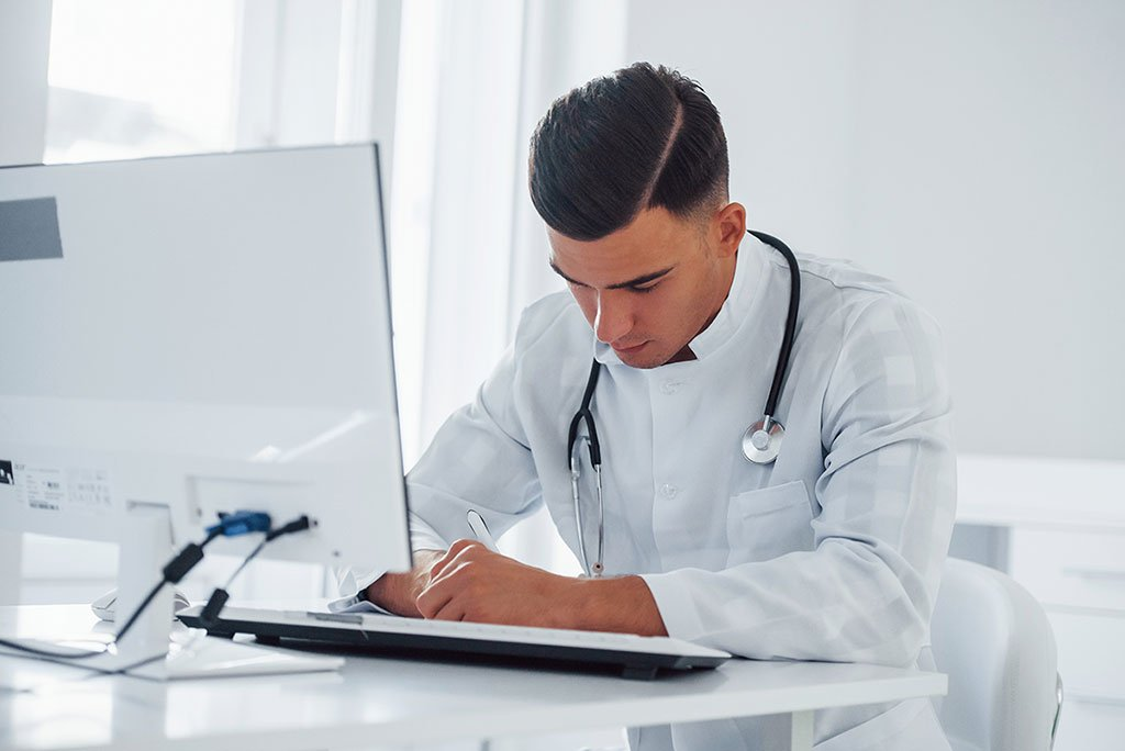 clinical trials and doctor