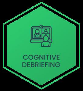 Cognitive debriefing
